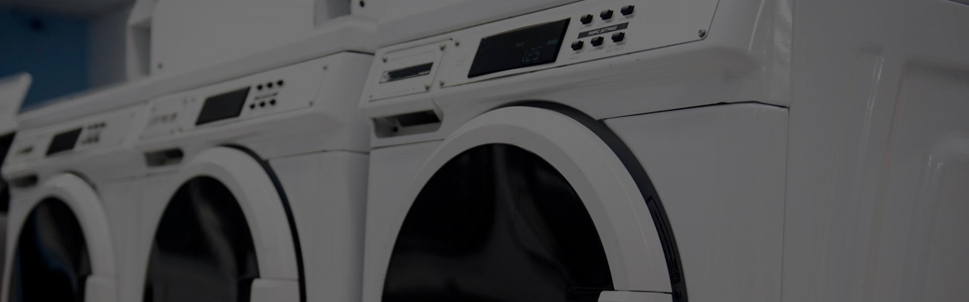 Nous installons des laveries dans des résidences